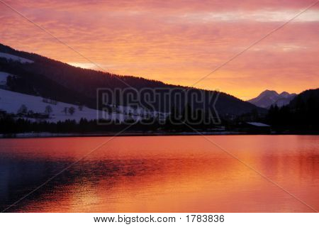 Walchsee Sunset