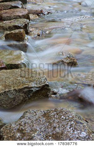 Mountain Stream Stepping Stones