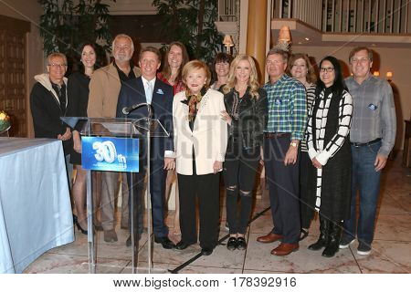 LOS ANGELES - MAR 23:  BnB 30 Year Employees, Katherine Kelly Lang, John McCook aat the celebration of 30 Years of BnB and their 23 Emmy nominations at CBS TV City on March 23, 2017 in Los Angeles, CA