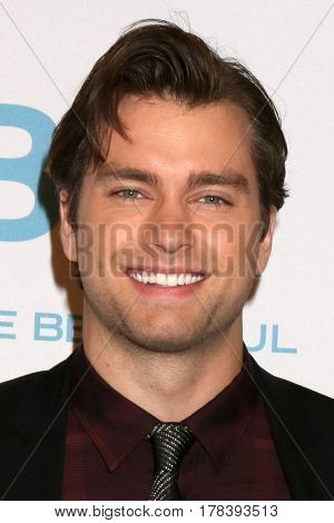 LOS ANGELES - MAR 23:  Pierson Fode at the On Set celebration of 30 Years of Bold and Beautiful and their 23 Daytime Emmy nominations at CBS Televsision City on March 23, 2017 in Los Angeles, CA