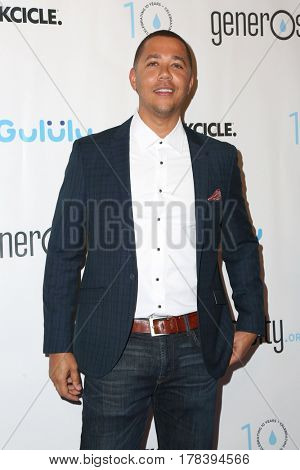 LOS ANGELES - MAR 21:  Reggie Brown at the Generosity.org Fundraiser For World Water Day at the Montage Hotel on March 21, 2017 in Beverly Hills, CA