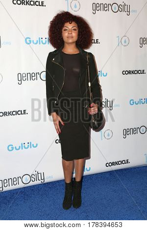 LOS ANGELES - MAR 21:  Ashley Everett at the Generosity.org Fundraiser For World Water Day at the Montage Hotel on March 21, 2017 in Beverly Hills, CA