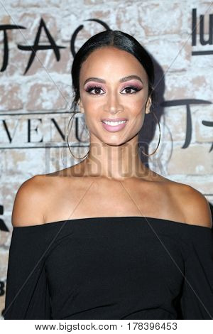 LOS ANGELES - MAR 16:  Draya Michele at the TAO, Beauty & Essex, Avenue and Luchini Grand Opening at the Selma Avennue on March 16, 2017 in Los Angeles, CA