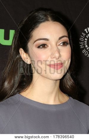 LOS ANGELES - MAR 23:  Kathryn Alexandre at the 34th Annual PaleyFest Los Angeles -