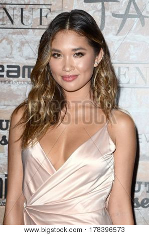 LOS ANGELES - MAR 16:  Jocelyn Chew at the TAO, Beauty & Essex, Avenue and Luchini Grand Opening at the Selma Avennue on March 16, 2017 in Los Angeles, CA