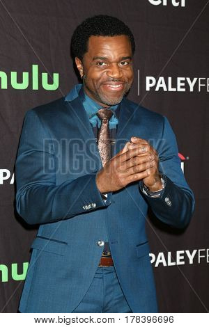 LOS ANGELES - MAR 23:  Kevin Hanchard at the 34th Annual PaleyFest Los Angeles -