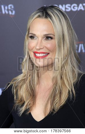 LOS ANGELES - MAR 22:  Molly Sims at the Lionsgate's