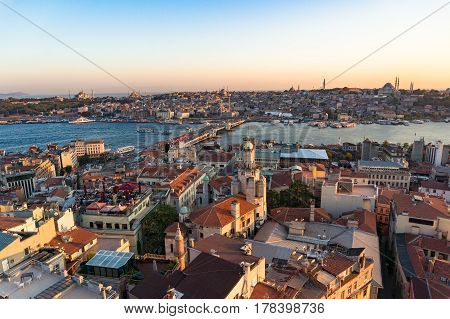 Drone View, Aerial Of Istanbul Historic Centre