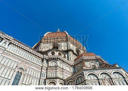 Santa Maria Del Fiore The Main Church Of Florence, Italy