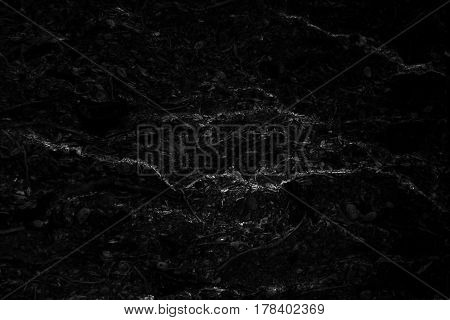 Black marble patterned texture background, Detailed genuine marble from nature, Can be used for creating a marble surface effect to your designs or images.