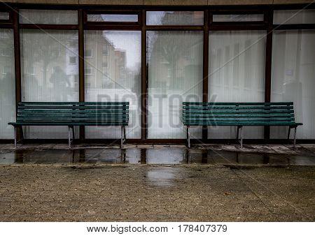 The abandoned hospital. Shot in Fredericia, Denmark