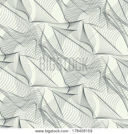 Exquisite Streamlines Beige Background
