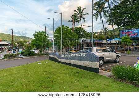 Airlie Beach Main Street Urban Landscape