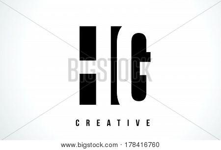 Hg H G White Letter Logo Design With Black Square.