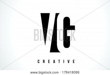 Vg V G White Letter Logo Design With Black Square.