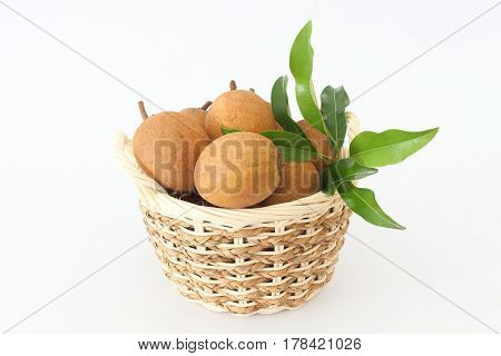 Sapodilla is a blackberry with sweet taste and health.