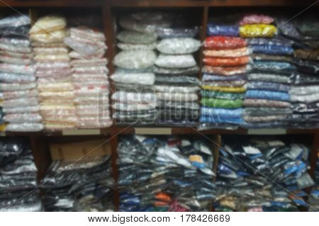 blurred photo, Blurry image, garment shop, background