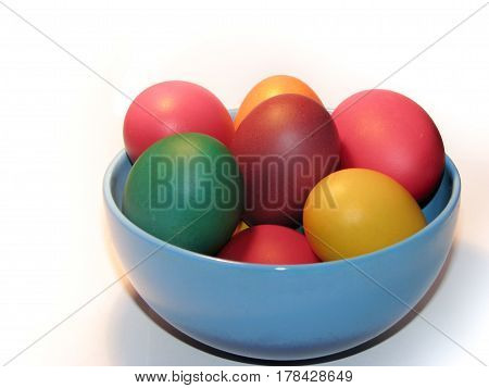 Colourful Easter Eggs - Eastern European Traditional Ornaments