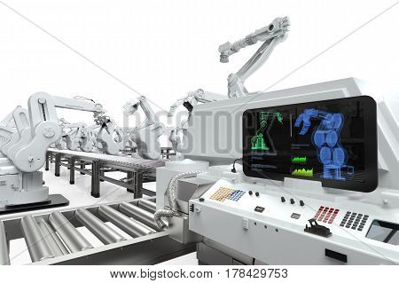 Automation Industry Concept