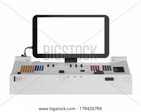 Control Panel Isolated