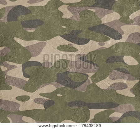 Army camouflage metal background