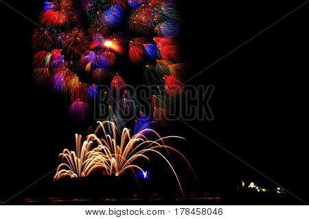 Pyrotechnics - Dazzling fireworks display in Malta