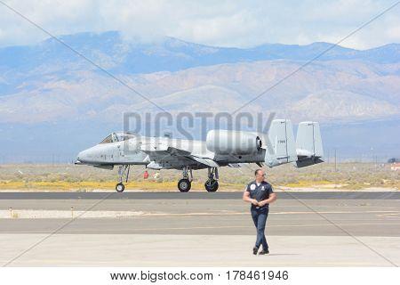 A-10 Thunderbolt Ii On Display