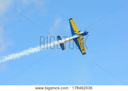 Matt Chapman Is Flying An A Extra 330Lx
