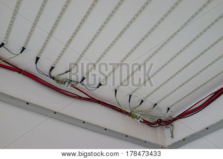 Led light lines ready in my home