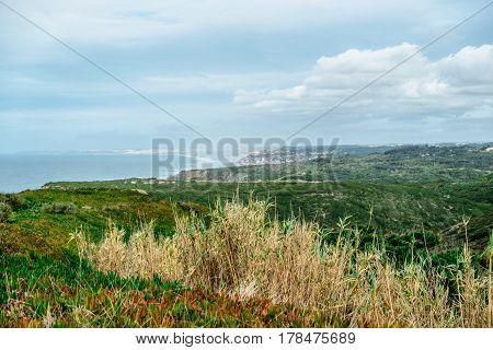 Wonderful view on Cabo da Roca in Portugal