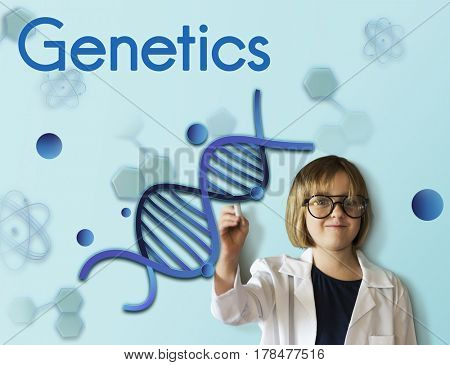 Genetics Laboratory DNA Science Biology Humanity