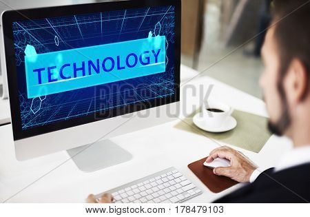 Technology Networking Binary Code Computer Language