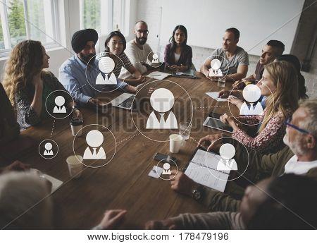Organization Company Chart Corporate Business
