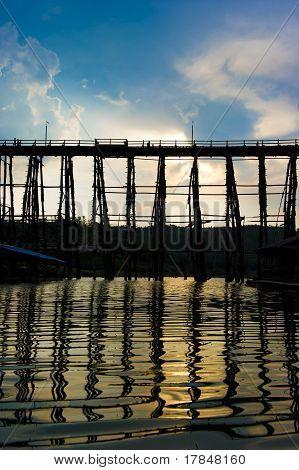 Wooden Mon Bridge