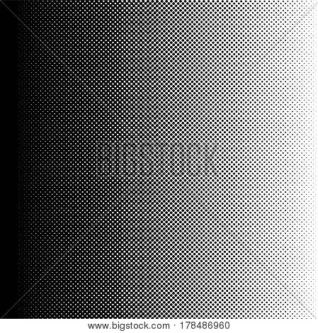 halftone gradient transition from black to white color, vector halftone