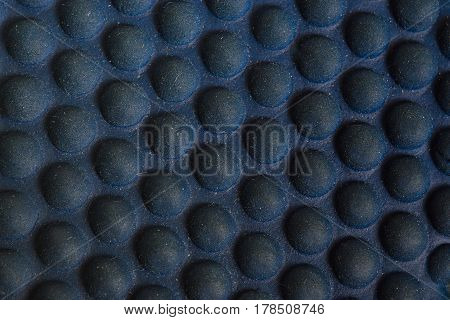 Texture Of Rubber Surface With Circular Bulge, Protruded And Curve Out Design For Wallpaper Or Typic
