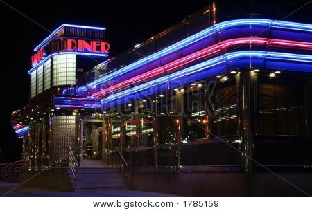 Diner At Night