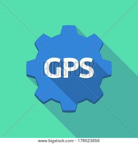 Long Shadow Gear With  The Global Positioning System Acronym Gps
