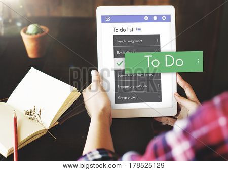Digital To do List App Interface
