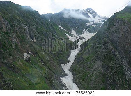 Mountain Scenery In Jammu & Kashmir, India
