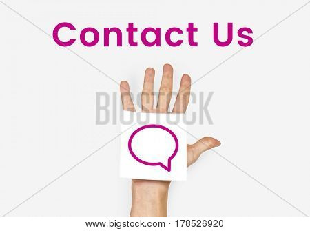 Contact Us Help Support Concept