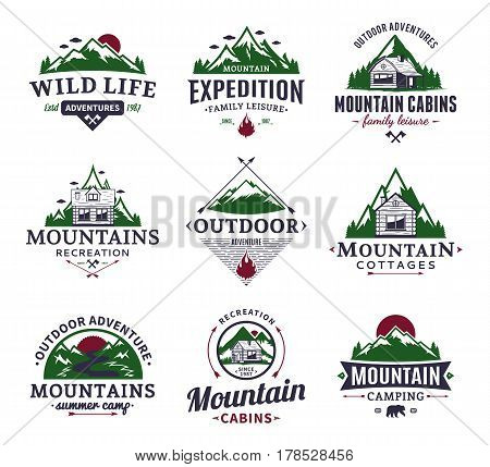 Mountain And Outdoor Recreation Logo