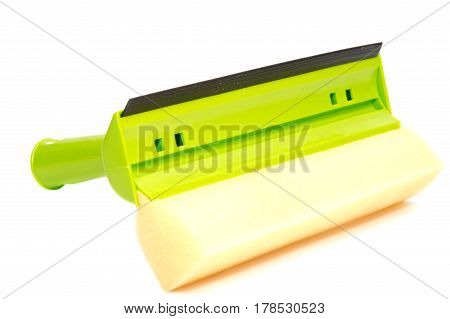 Glass cleaner tool isolated on white background with .
