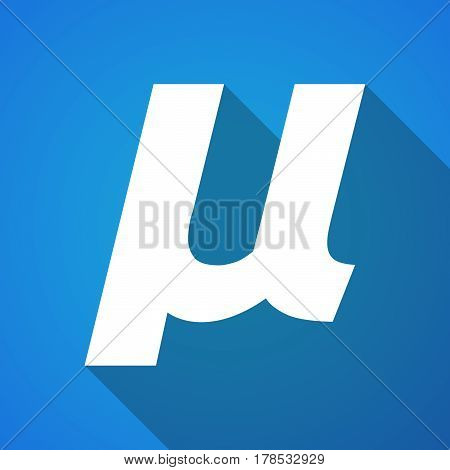 Illustration Of A Micro Sign, Mu Greek Letter