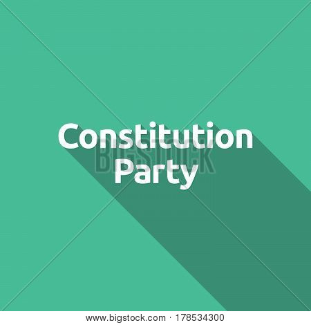Illustration Of   The Text Constitution Party