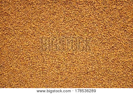 Fenugreek Seeds Background