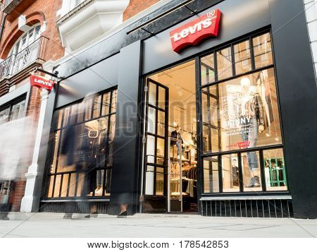 Levis Store, Covent Garden, London