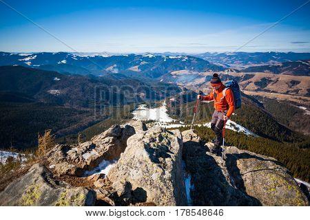 Climber On Top.