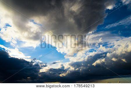 Heavenly Scene Spectacular Cloudscape