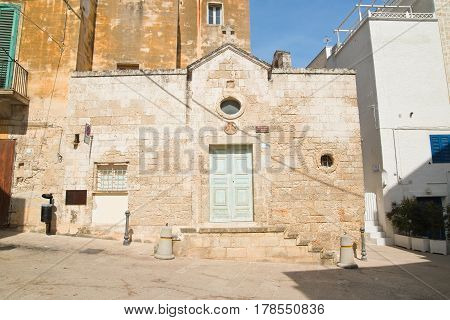 Church of St. Giovanni. Monopoli. Puglia. Italy.